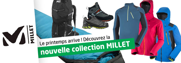 Nouvelle collection Millet