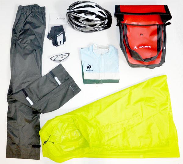 les vêtements essentiels pour le cyclotourisme