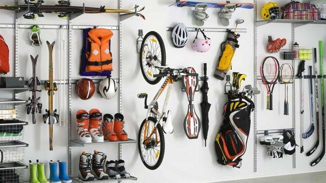 Comment ranger son matériel de sport