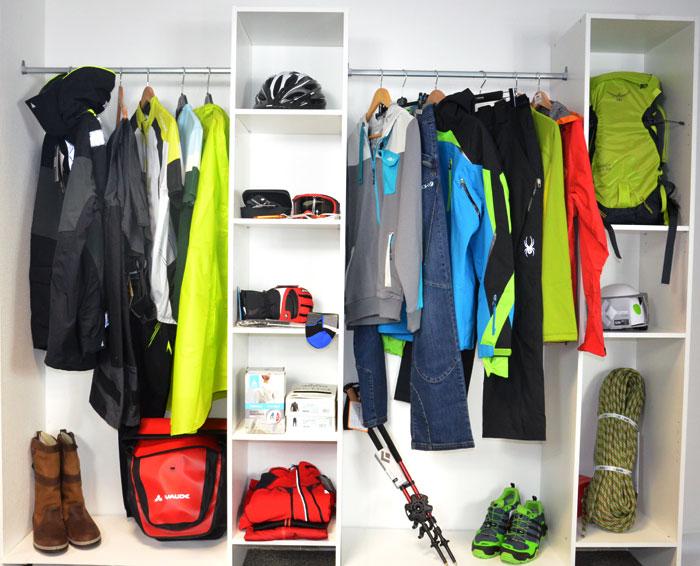 Les vêtements et équipement sportifs pour 2015