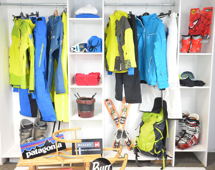 Les meilleures ventes de vêtements de ski de l'hiver 2014