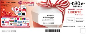 Chèque Cadeau Tir Groupé