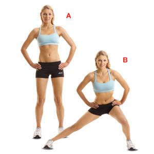 Exercice fente latérale