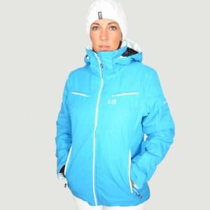 Veste de ski bleue pour femme