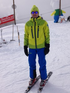 Ensemble blouson + pantalon de ski Cosmic Couloir GTX