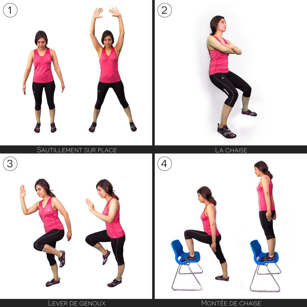 Exercices pour se préparer à la randonnée